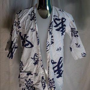 Large kimono top